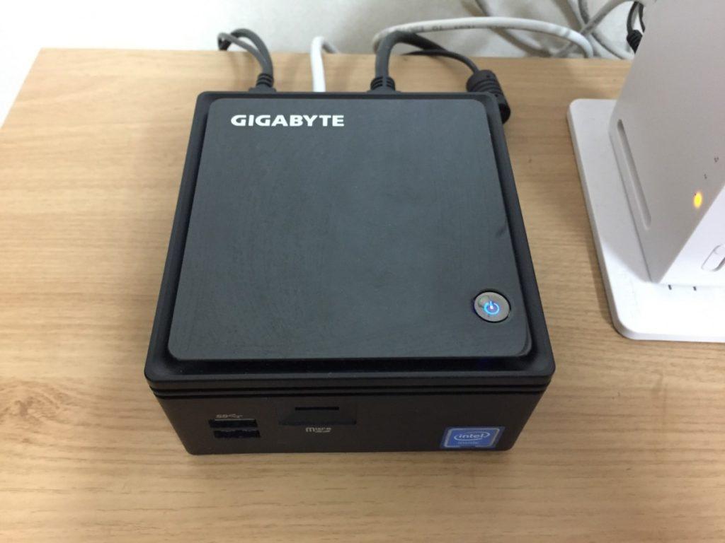 네번째 서버 GIGABYTE BRIX