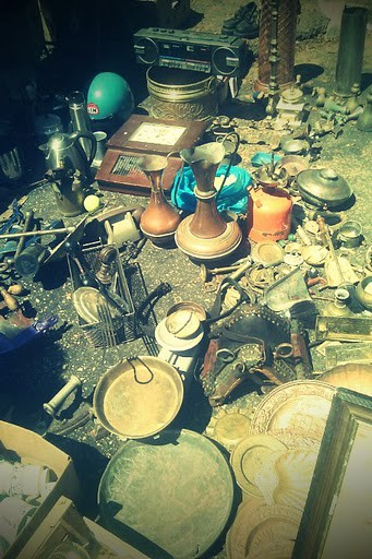 Flea Market in Valleta