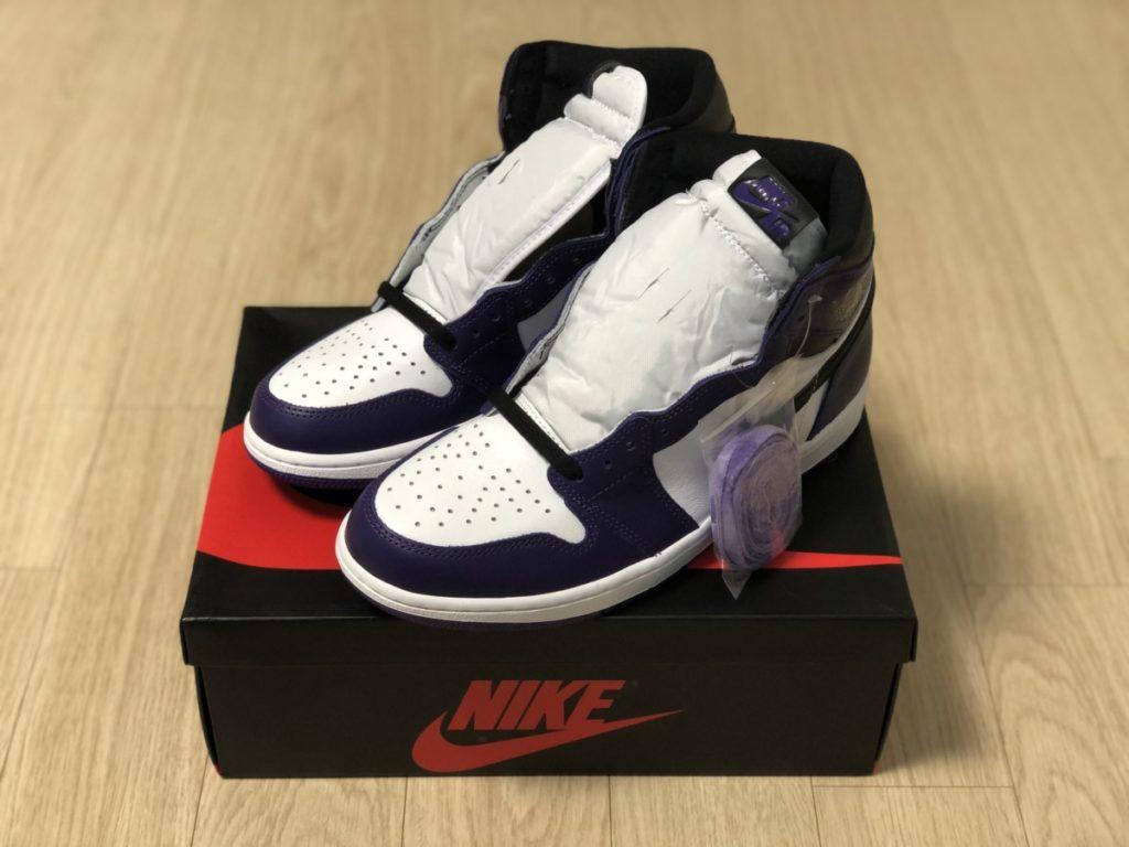 미루고 미루던 에어조던 1 코트퍼플 리뷰_Air Jordan 1 Court Purple